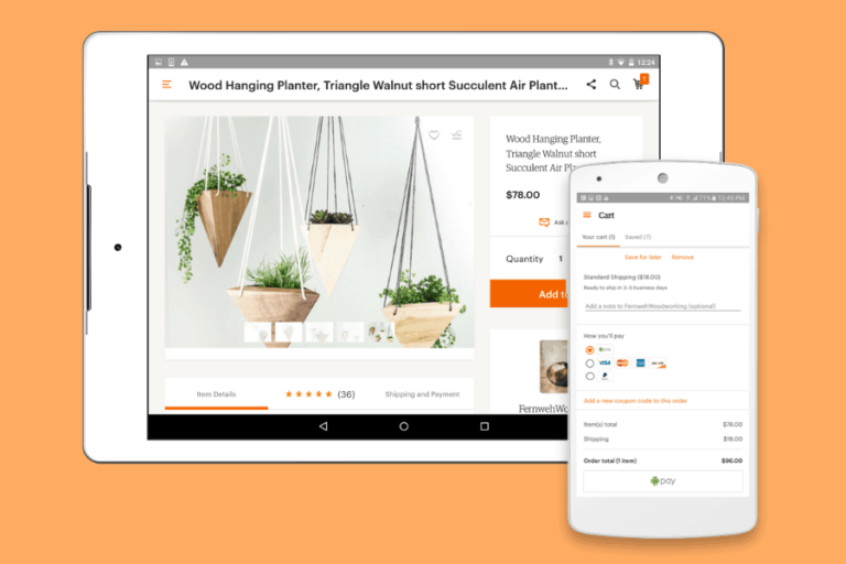 Etsy adds Android Pay to extend mobile shopping on its marketplace