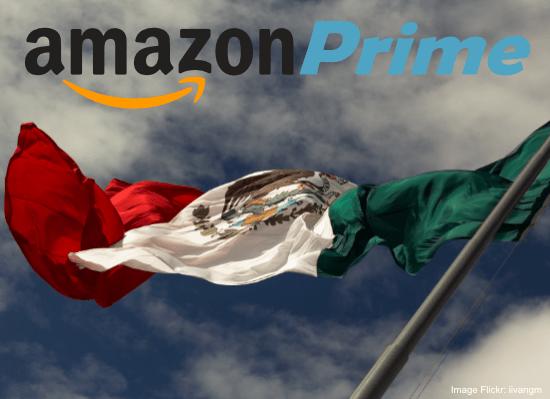 Amazon Prime Launches in Mexico