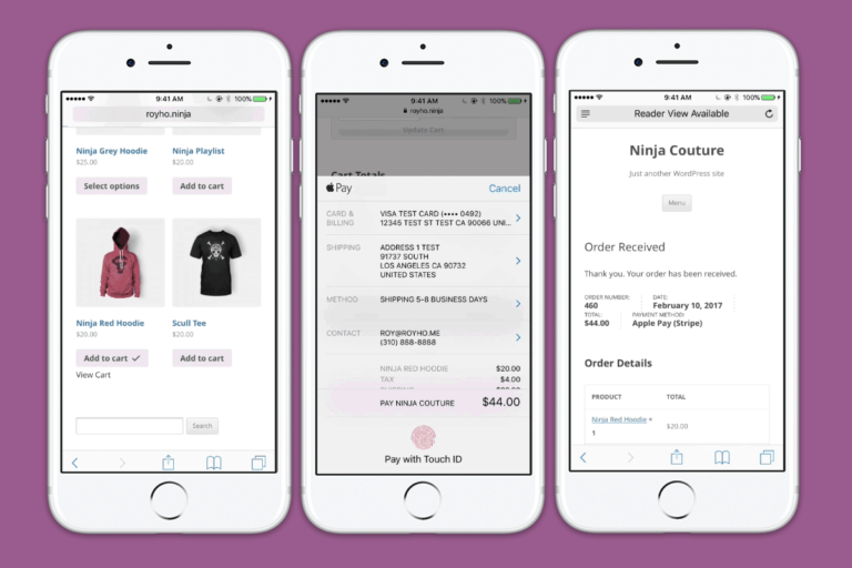 Apple Pay now available for WooCommerce on mobile and desktop