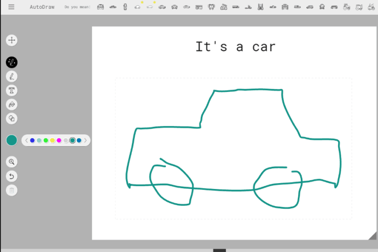 A look at Google's new web-based drawing tool AutoDraw
