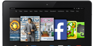 Amazon Fire with Subscription Screen