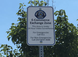 West Carrollton police department eCommerce Exchange Zone
