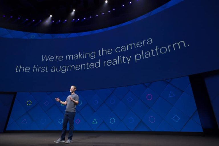Augmented Reality and Messenger highlight opening Facebook F8 keynote speeches