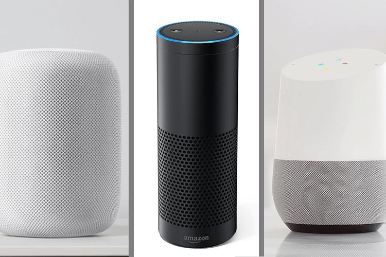 Apple Homepod vs Amazon Echo vs Google Home