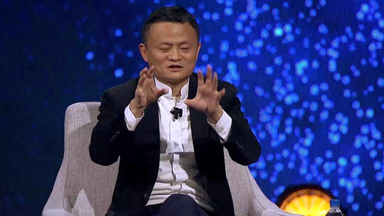 Alibaba Gateway 17 Jack Ma Fireside Chat with Charlie Rose