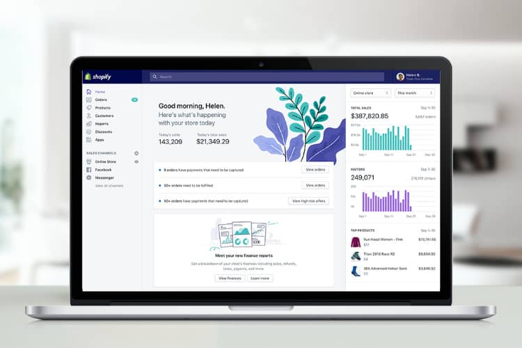 Shopify Updates Design and Functionality
