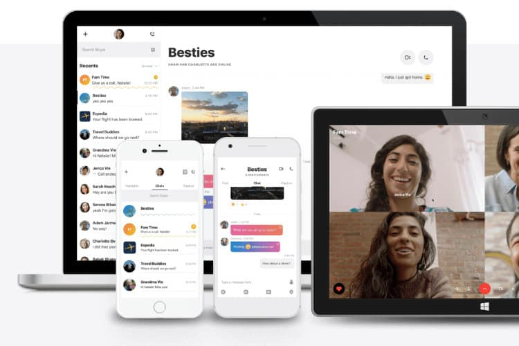 Skype Receives a Facelift to Match Rivals