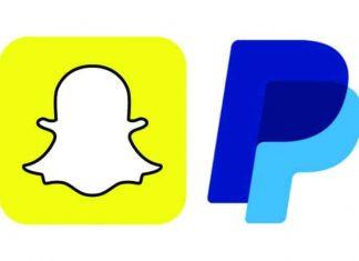 Snapchat & Paypal logos