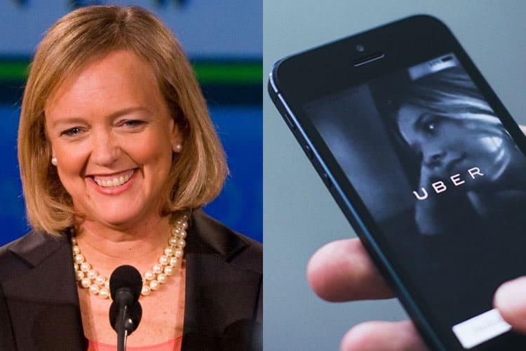 Former eBay Boss Meg Whitman Denies Move to Uber