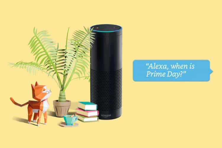Amazon's Alexa voice deals return for this year's Prime Day