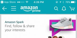 Image: Richard Meldner | Amazon Spark on IOS