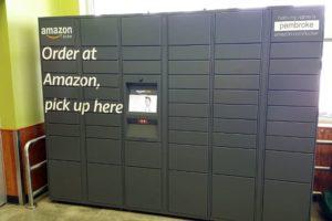 amazon parcel lockers