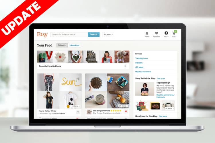 Etsy Updates Sellers on New Search Tests