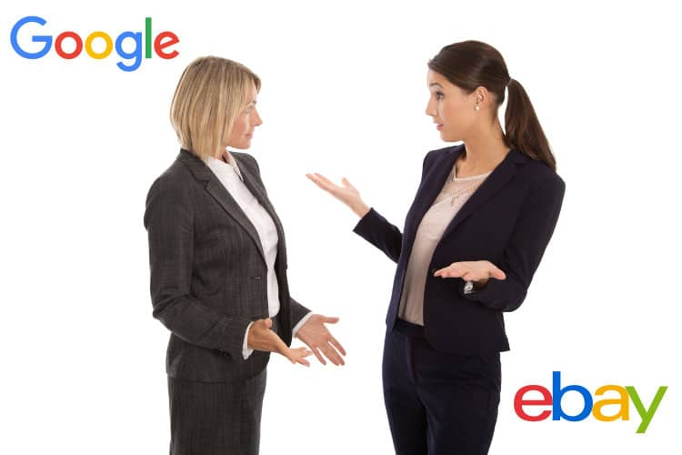 Google Chrome Browser Security Change Prompts Action by eBay