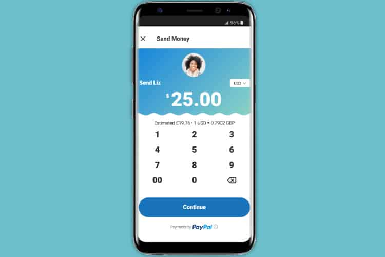 You can now send money through PayPal from within Skype's mobile apps