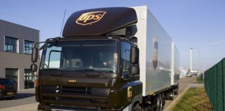Image: UPS | OTR Freight Truck in Europe