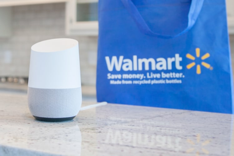 Walmart Offers Voice Shopping on Google Home