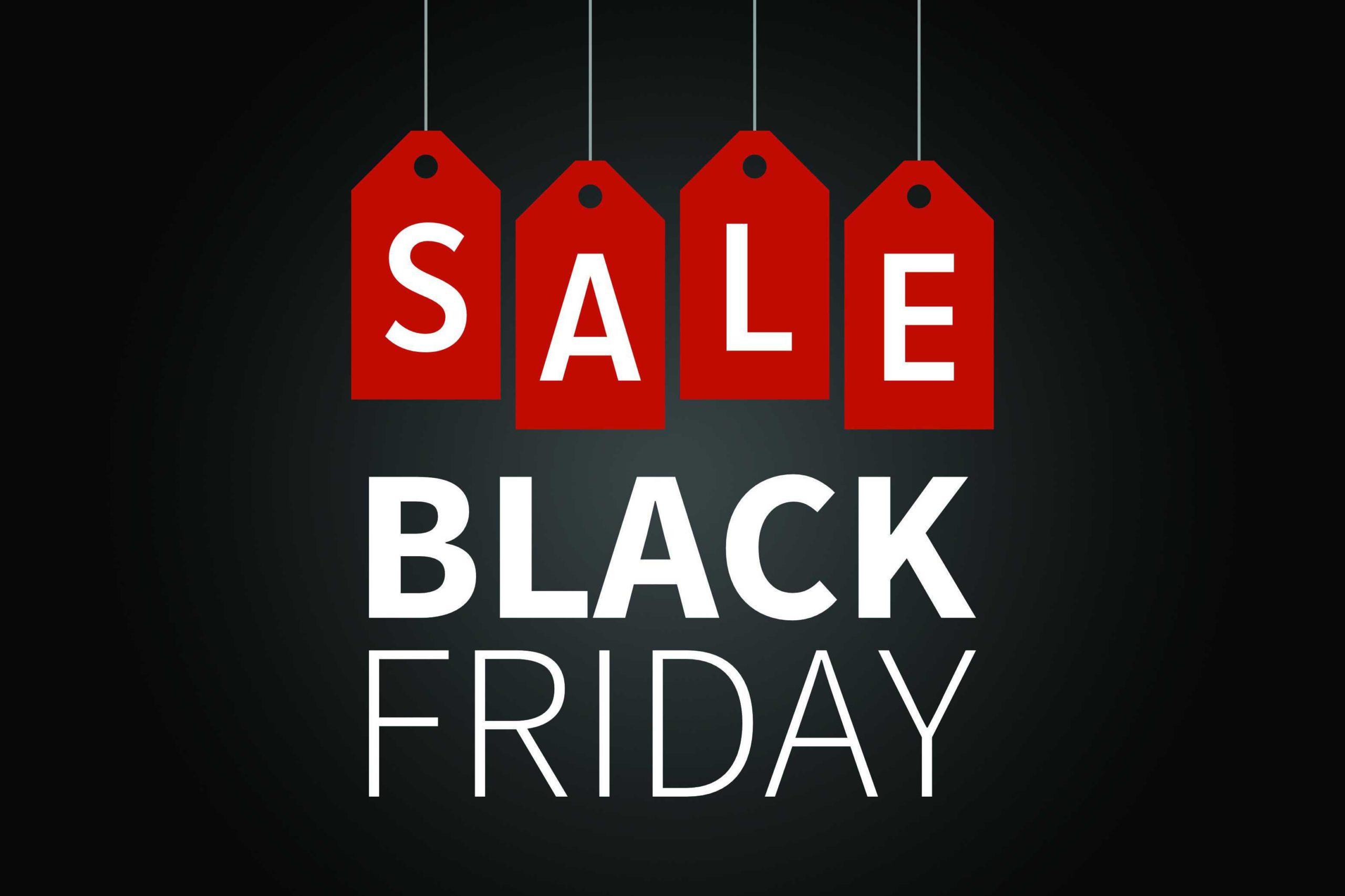 Image: Adobe Stock   Black Friday