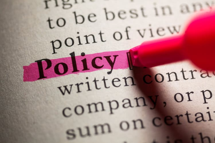Image: Adobe Stock | Policy