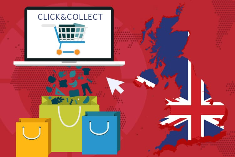 Click and Collect Services Usage is Higher in The UK
