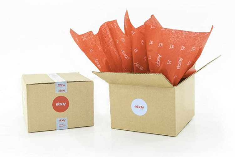 eBay Branded Holiday Shipping Supplies Promo