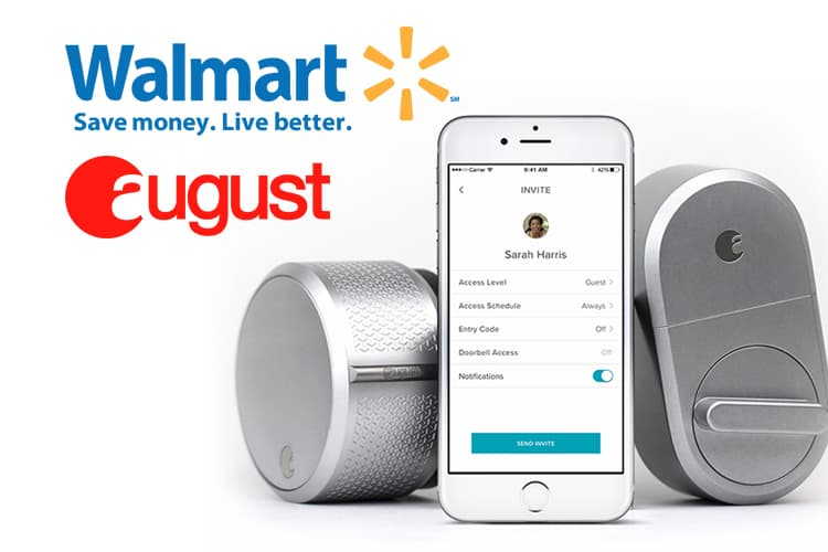 Walmart Has Partnered With Smart Lock August To Test New Delivery Process