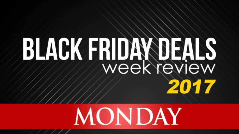 Black Friday Deals Week Review – Monday