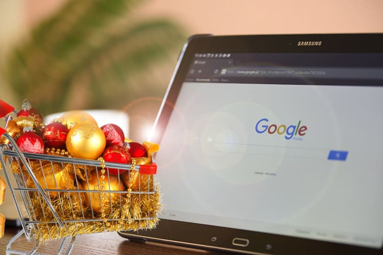 Getting Christmas Shoppers Through Google Search