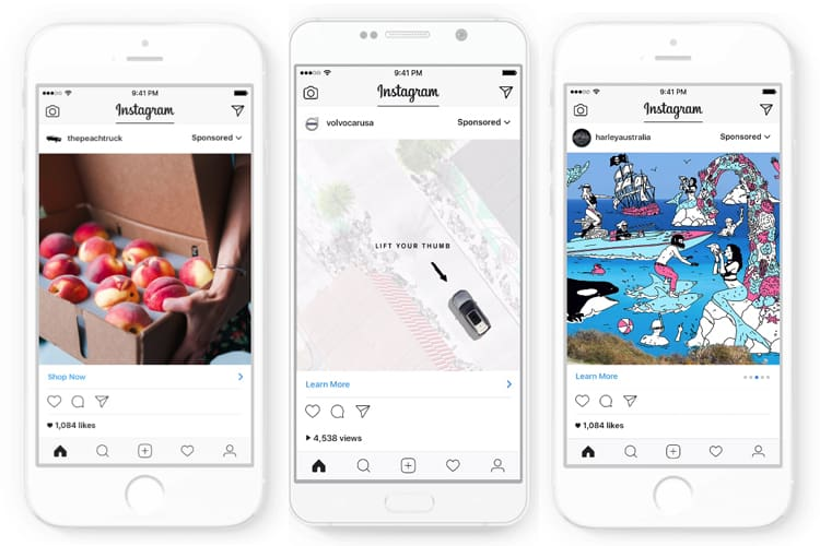 New Format For Sponsored Posts Developed By Instagram