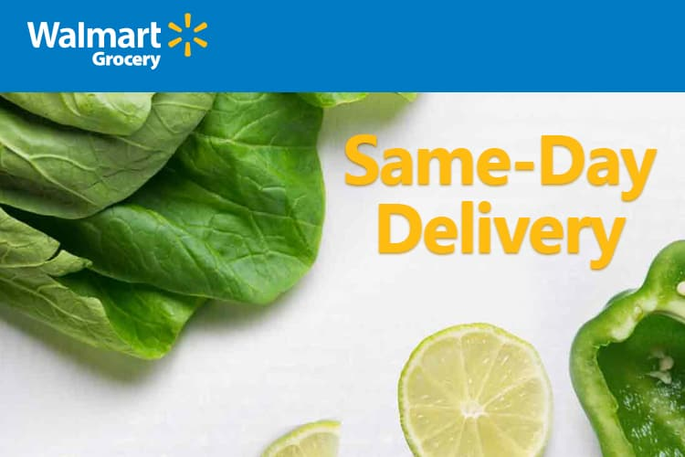 Walmart San Jose Gets Same Day Delivery Service