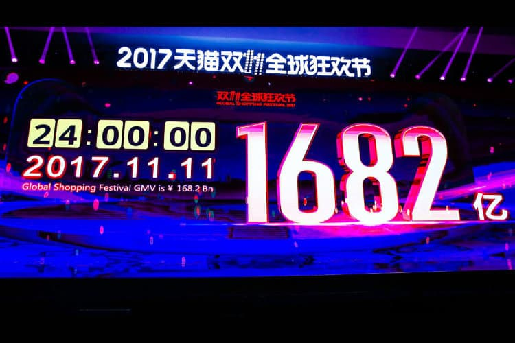 Record Alibaba 11.11 Global Shopping Festival