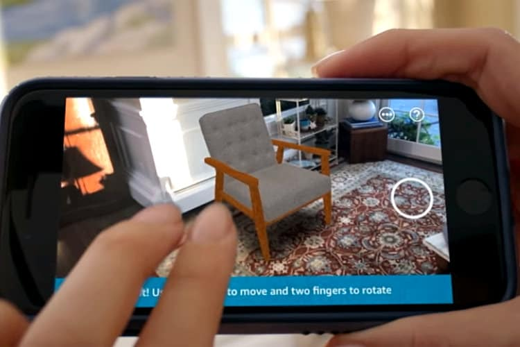 Amazon Launches AR View on Its App for iOS 11 and iPhone 6s or Later