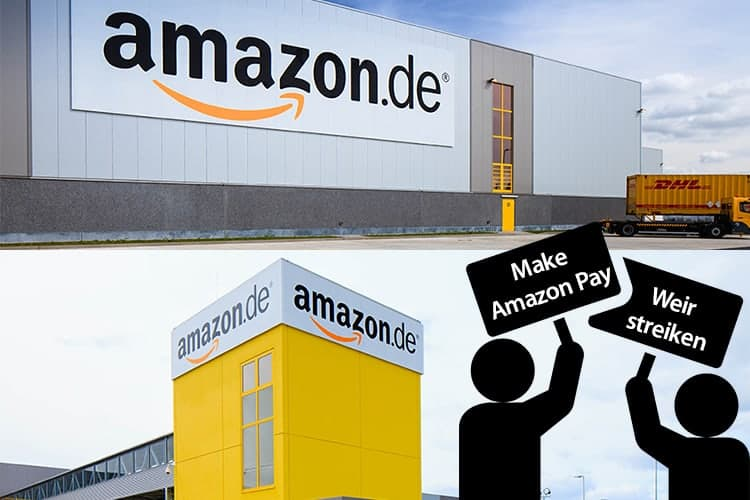 Amazon Faces Strike in Italy and Germany on Black Friday