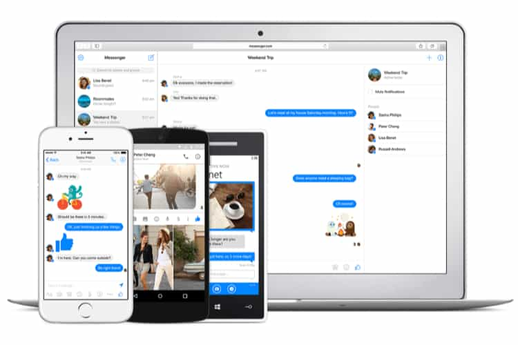Facebook Messenger Comes to Business Websites in Closed Beta