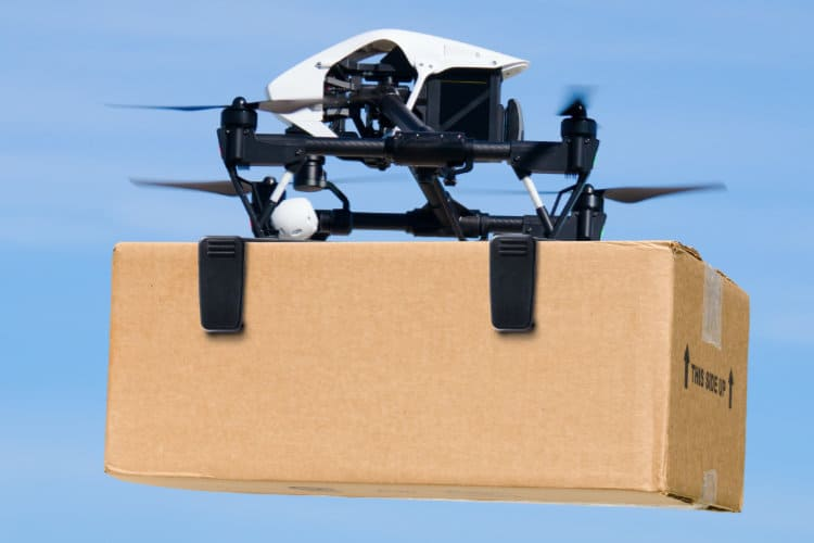 India's Government Considering Drones for Delivery of eCommerce Packages