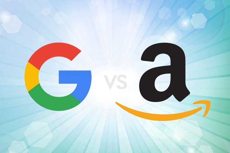 Google And Amazon Competition Heats Up