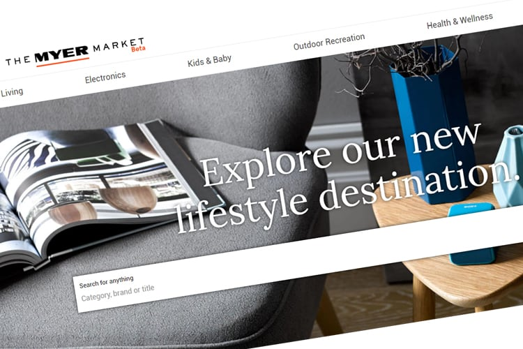 Myer Quietly Launches Its New Online Retail Platform