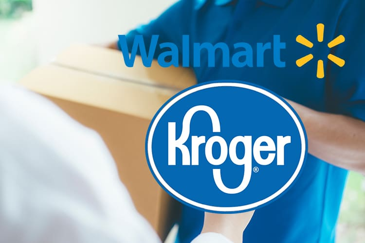 Walmart and Kroger to Offer Curbside Pickup to Combat Amazon Delivery