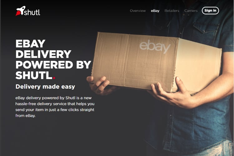 eBay UK Announces Price Changes to Shutl Delivery Services