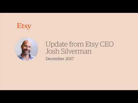 Etsy CEO Josh Silverman Talks About the Platform's Future