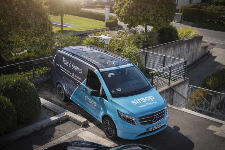 Mercedes-Benz Demonstrates The Van as a Mobile Mailbox