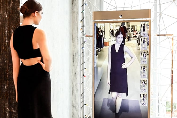 Amazon Patents a 'Smart Mirror' to Help You Try On Virtual Clothes