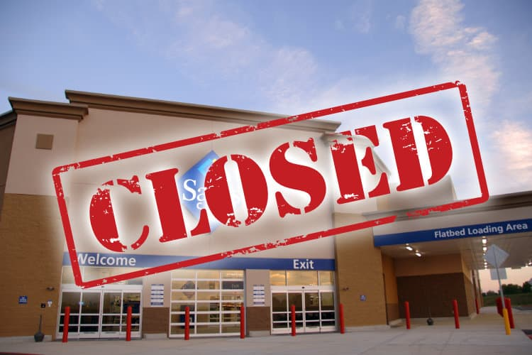 Walmart Closing 63 Sam's Club Stores [UPDATE]