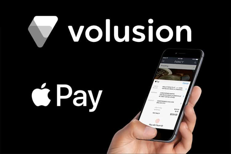 Volusion Brings Apple Pay to its eCommerce Platform