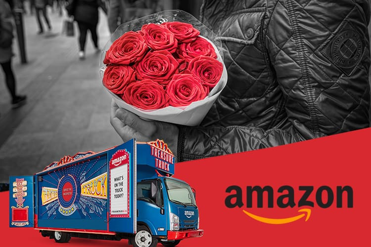 Amazon Treasure Truck Has Your Back This Valentines Day