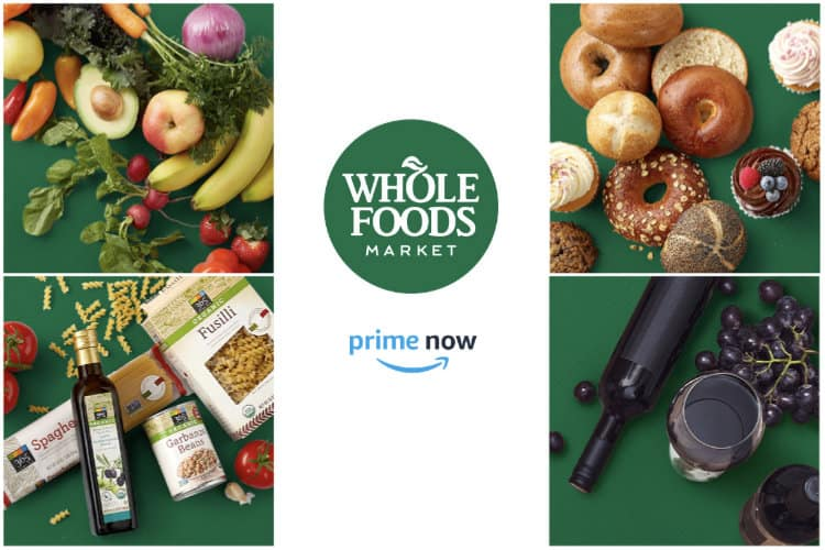 Amazon Prime Now Begins Deliveries from Select Whole Foods Markets