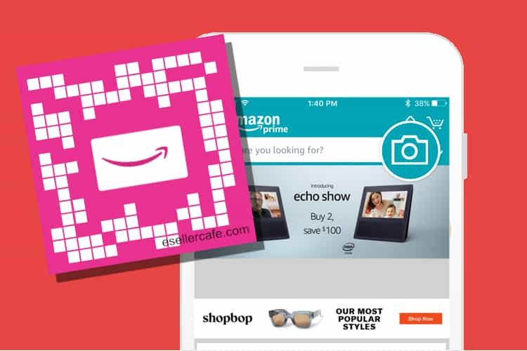 Amazon Introduces QR Codes called SmileCodes