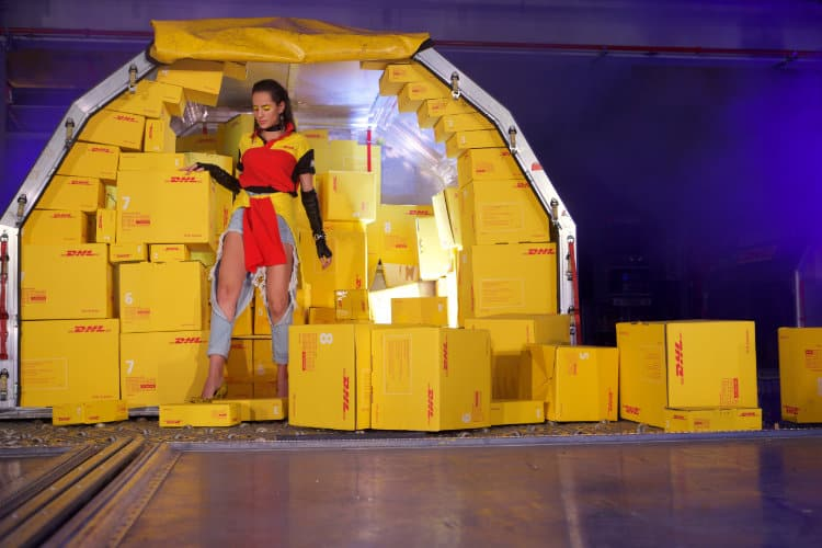 DHL Holds Fashion Show at Leipzig Hub to Showcase Fashion Logistics