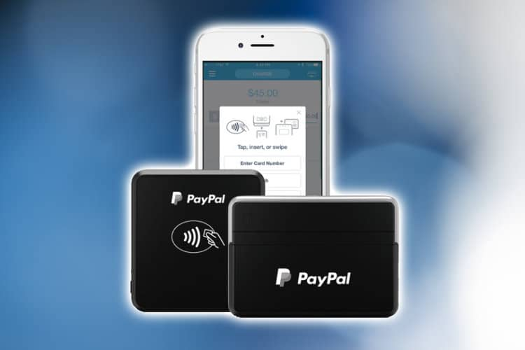 New paypal here credit card readers feature mobility and security paypal reheart Image collections