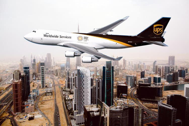 UPS Announces Daily Non-Stop Flight from U.S. to Dubai